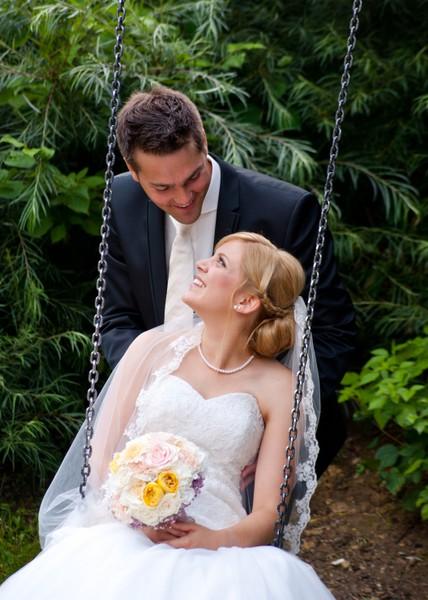 Brautstrauß-Schaukel